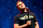 Daniel Bedingfield at Vector Arena in 2007. Photo/Kenny Rodger
