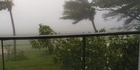 Watch: Cyclone Evan: Reader video