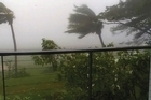 Fiji residents are bracing themselves as Cyclone Evan makes its presence felt.