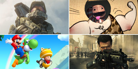From Halo to Mario, players have enjoyed quality gaming in 2012. Photos / Supplied