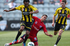Paul Ifill in action against Adelaide. Photo / Getty Images