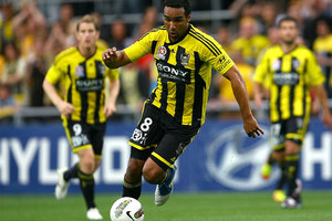 The Wellington Phoenix will be without Paul Ifill for at least the next month after the striker had his ankle operated on today. Photo / Getty Images.
