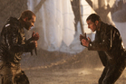 Tom Cruise and Jai Courtney in Jack Reacher. Photo/AP