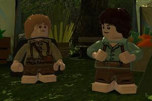 Thanks to Lego, players can go there and back again, all over again. Photo / Supplied