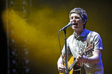 Noel Gallagher performs with High Flying Birds. Photo/AP