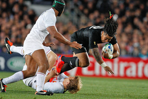 The All Blacks face France in a three-test series in June next year. Photo / Ron Burgin