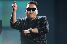 Psy's Gangnam Style was the top YouTube hit of 2012.