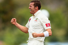 An unsourced report on cricinfo said Sri Lankan officials were concerned by footage of Australian paceman Peter Siddle, who took 5-54. Photo / AP