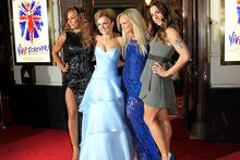 Mel B, left, Geri Halliwell, Emma Bunton and Mel C at the premiere of Viva Forever! Photo/AP