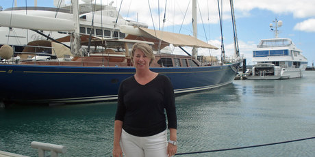 New Zealand's busy season for superyacht visits is September through to April/May, says Jeanette Tobin. Photo / Supplied
