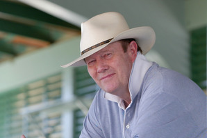 Former England Cricket Captain Tony Greig. Photo / Getty Images