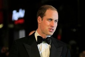 Britain's Prince William will spend Christmas with Kate in the southern England village of Bucklebury. Photo / AP