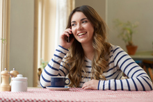 Many people will be sending New Year wishes through phonecalls and texts. Photo / Thinkstock