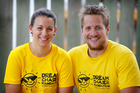 Keri and Ryan Topperwien set up the charity after their son Chace died in June. Photo / Christine Cornege