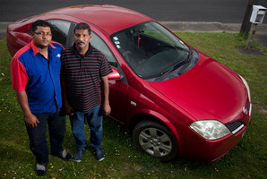 Shiu Narayan is left with huge bills after paying for his father Shiu's car accident. Photo / Greg Bowker