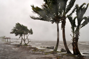 The Fijian coast took a battering from Tropical Cyclone Evan as the storm moved to Fiji after hitting Samoa in mid-December.