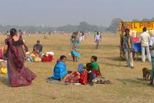 The Maidan is a green expanse in Kolkata. Photo / Supplied