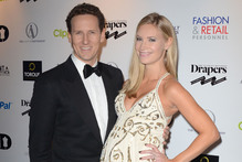 Brendan Cole and Zoe Hobbs. Photo / Snapper Media