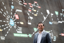 Jesse Thomas' goal is to be the hottest digital agency in New Zealand. Photo / Christine Cornege
