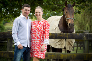 Opie Bosson and Danielle Johnson will be competing against each other in the Boxing Day races at Ellerslie. Photo / Natalie Slade