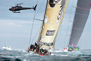 The Tattersall's Cup is awarded to the yacht that finishes the race fastest. Photo / Rolex Yachting