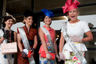Anna Campbell (right) reacts to winning the Supreme award of the Viva Fashion in the Field. Photo / Natalie Slade