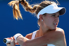 Canadian Eugenie Bouchard, who's had a year of big wins, may get the last wildcard. Photo / Getty Images
