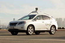 Google is developing a version of a driverless car and its co-founder, Sergey Brin, thinks people will be able to get hold of one in the next five years.