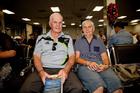 Roy and Zoe McEvoy. Photo / Neville Marriner