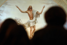 By sending his only son into the world God is making himself manifest on earth, says Hewat. Photo / AP