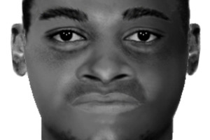 The Computer-generated image of an African man found on a London street. Photo / AP