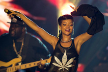 Barbadian singer Rihanna.Photo / AP
