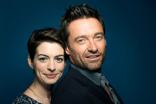 Anne Hathaway and Hugh Jackman sing live on camera in Les Miserables, set in post-Napoleonic France. Photo / AP