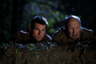 Tom Cruise and Robert Duvall in Jack Reacher. Photo / Supplied