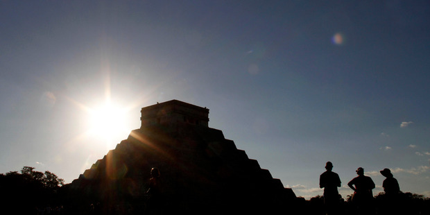 Scholars say there is little evidence the Mayans believed the predictions attributed to them. Photo / AP