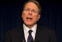 The National Rifle Association executive vice president Wayne LaPierre. Photo / AP