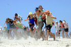 Waihi Beach's New Year's Beach Sports Day celebrates 100 years on Tuesday, with the focus on fun and the Goldminers' original cup. Photo / Sally Gibbs