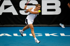 Marina Erakovic should be able to reach at least the semifinals. Photo / APN