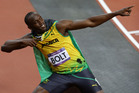 Sprint superstar Usain Bolt will stay in the frame as he heads to a world championship showdown with Yohan Blake in Moscow. Photo / Brett Phibbs