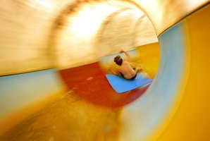 The hydroslide at Hamilton's Waterworld. File photo /  Amos Chapple