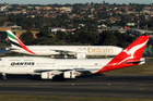 Qantas lining up with Emirates. Photo / Supplied
