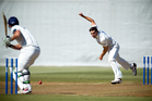 Bowler Mitchell McClenaghan can go for a few runs but can also be a strike weapon who applies the pressure. Photo / Dean Purcell