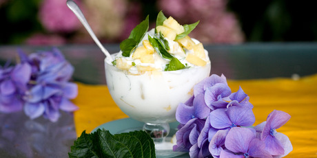 Coconut cream is divine in both sweet and savoury food. Photo / Babiche Marten
