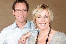 Simon Dallow and Wendy Petrie. Photo / Chris Skelton