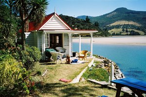 Most New Zealanders call their holiday home a bach, but southerners are more likely to call it a crib. Photo / File / BOP