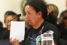 Hilda Halkyard-Harawira says there is no mana in drugs. Photo / APN