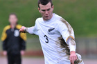 Ian Hogg is a possible choice for left wing back. Photo / NZPA