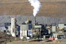 Macraes Oceana Gold mine processing plant. Photo / NZPA