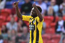 Wellington Phoenix super-sub Benjamin Totori has taken his time to find his niche in the A-League but the livewire attacker may just be up to speed now. Photo / Getty Images.