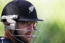 Daniel Vettori's lending support to Brendon McCullum during his first tour as Black Caps captain. Photo / Getty Images. 